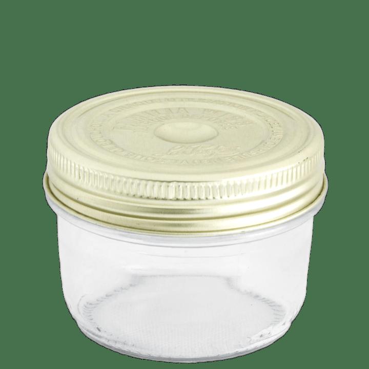 Produit - Verrerie - Conserveur à vis doré